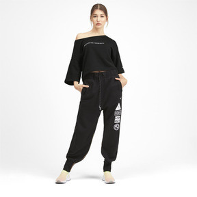 Thumbnail 3 of Sweatshirt court à manches courtes PUMA x SELENA GOMEZ pour femme, Puma Black, medium