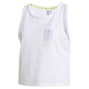 Thumbnail 4 of PUMA x SELENA GOMEZ Cropped Women's Tank Top, Puma White, medium