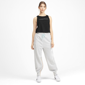 Thumbnail 3 of PUMA x SELENA GOMEZ Cropped Women's Tank Top, Puma Black, medium