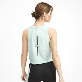Thumbnail 2 of PUMA x SELENA GOMEZ Cropped Women's Tank Top 2, -Fair Aqua Gradient, medium