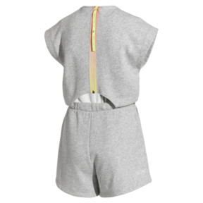 Thumbnail 5 of PUMA x SELENA GOMEZ Damen Jumpsuit, Light Gray Heather, medium