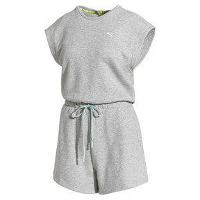 Thumbnail 4 of PUMA x SELENA GOMEZ Damen Jumpsuit, Light Gray Heather, medium