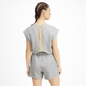 Thumbnail 2 of PUMA x SELENA GOMEZ Women's Romper, Light Gray Heather, medium