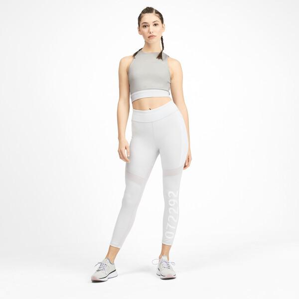 PUMA x SELENA GOMEZ Sleeveless Women's Crop Top, Glacier Gray-Puma White, large