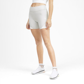 Thumbnail 1 of PUMA x SELENA GOMEZ Women's Short Tights, Glacier Gray-Puma White, medium
