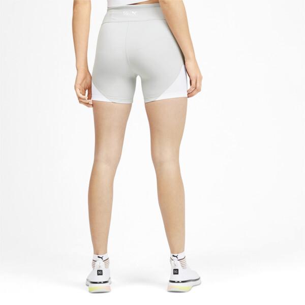 PUMA x SELENA GOMEZ Women's Short Tights, Glacier Gray-Puma White, large
