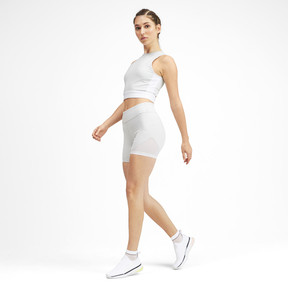 Thumbnail 3 of PUMA x SELENA GOMEZ Women's Short Tights, Glacier Gray-Puma White, medium