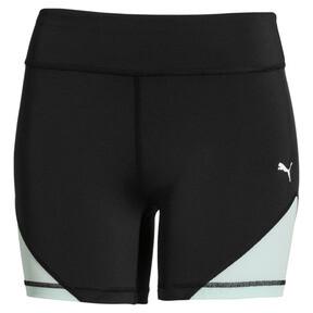 Thumbnail 4 of PUMA x SELENA GOMEZ Women's Short Tights, Puma Black-Fair Aqua, medium