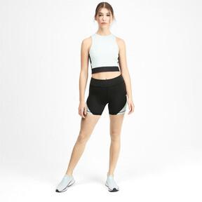 Thumbnail 3 of PUMA x SELENA GOMEZ Women's Short Tights, Puma Black-Fair Aqua, medium