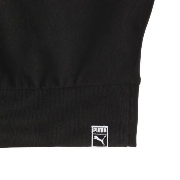 WILD PACK ウィメンズ クロップド フーディ, Cotton Black, large-JPN