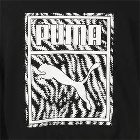 Thumbnail 6 of WILD PACK ウィメンズ クロップド フーディ, Cotton Black, medium-JPN