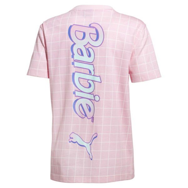 PUMA x BARBIE Girl's Tee JR, Candy Pink, large