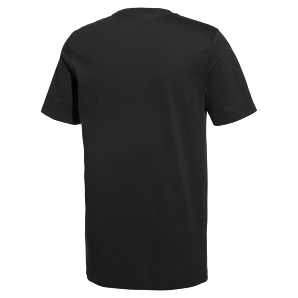 PUMA x MTV T-shirt voor heren, Puma Black, large