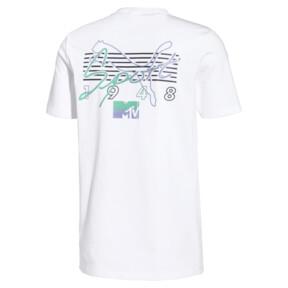 Miniatura 2 de Camiseta PUMA x MTV para hombre, Puma White, mediano