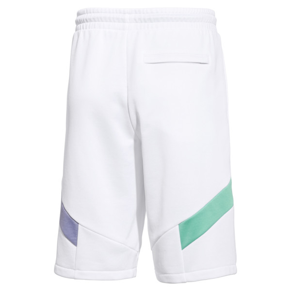 PUMA x MTV MCS Men's Shorts, Puma White, large