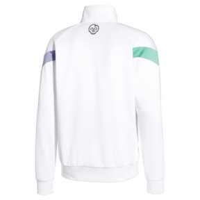 Thumbnail 2 of PUMA x MTV MCS Men's Track Top, Puma White, medium
