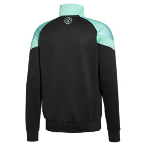 Thumbnail 2 of PUMA x MTV MCS All-Over Printed Zip-Up Men's Track Top, Puma Black, medium