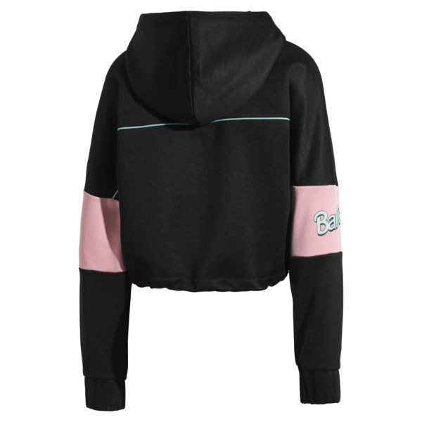 PUMA x BARBIE XTG Women's Track Jacket, Puma Black, large