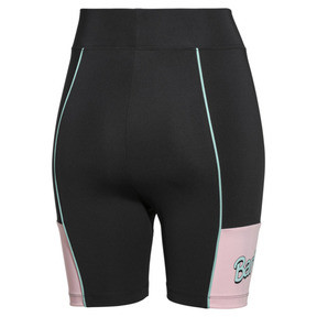 Thumbnail 2 of PUMA x BARBIE Women's Cycling Shorts, Puma Black, medium