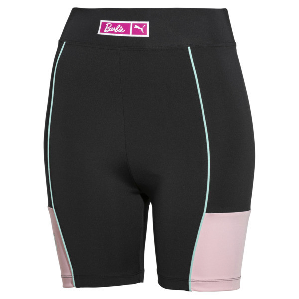 PUMA x BARBIE Women's Cycling Shorts, Puma Black, large