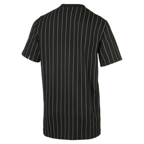 Thumbnail 4 of Archive Pinstripe Men's Tee, Puma Black, medium