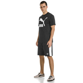 Thumbnail 5 of Archive Pinstripe Men's Tee, Puma Black, medium