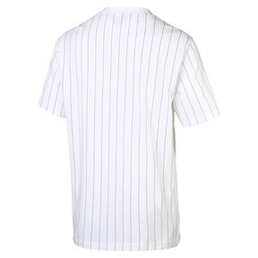 Thumbnail 4 of Archive Pinstripe Men's Tee, Puma White, medium
