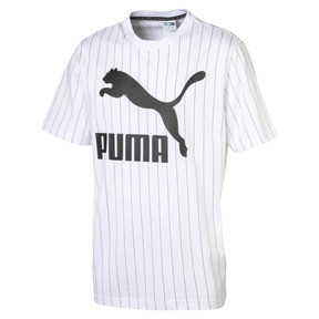 Thumbnail 1 of Archive Pinstripe Herren T-Shirt, Puma White, medium