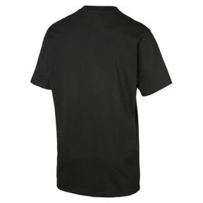 Thumbnail 4 van Archive T-shirt met krijtstreepprint voor mannen, Puma Black, medium