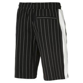 Thumbnail 4 of Pinstripe Men's AOP Shorts, Puma Black, medium