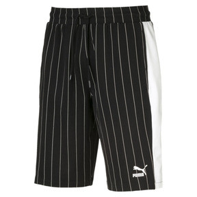 Pinstripe Men's AOP Shorts