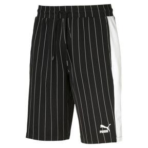 Thumbnail 1 of Pinstripe Men's AOP Shorts, Puma Black, medium