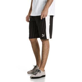 Thumbnail 2 of Pinstripe Men's AOP Shorts, Puma Black, medium