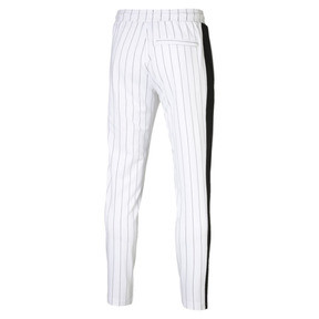 Thumbnail 5 of Pinstripe Men's T7 Track Pants, Puma White-AOP, medium
