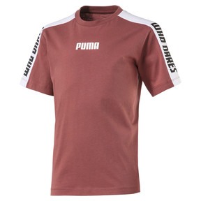 Thumbnail 1 of Colour Block Kids' Tee, Marsala, medium