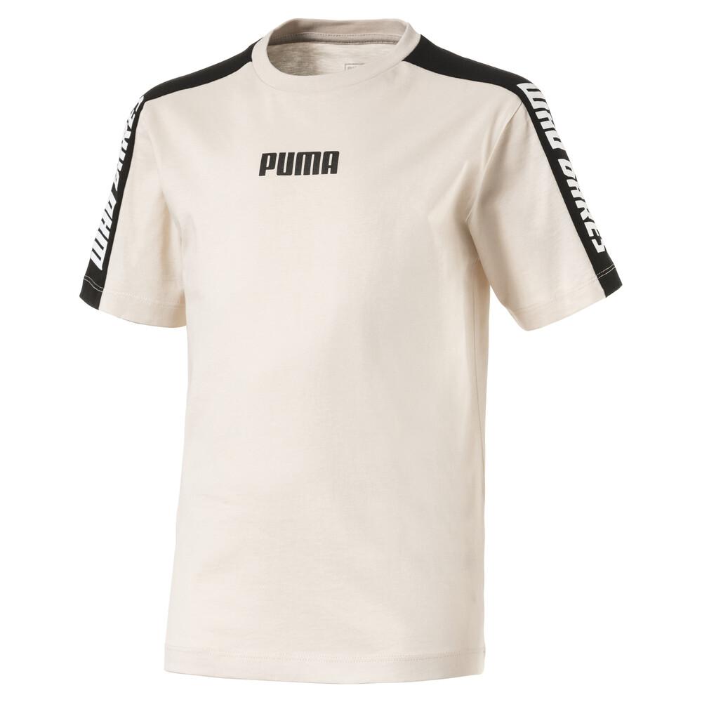 Купить Детская футболка Color Block T-Shirt, PUMA, Розовый