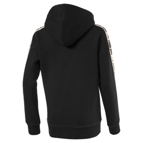 Thumbnail 2 of Fleece Kids' Hoodie, Puma Black, medium