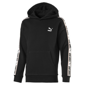 Thumbnail 1 of Fleece Kids' Hoodie, Puma Black, medium