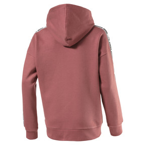 Thumbnail 2 of Fleece Kids' Hoodie, Marsala, medium