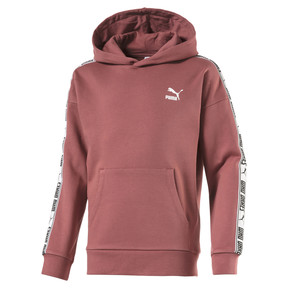 Thumbnail 1 of Fleece Kids' Hoodie, Marsala, medium