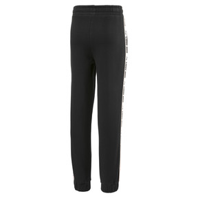 Thumbnail 2 of Fleece Kids' Sweatpants, Puma Black, medium