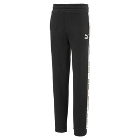 Thumbnail 1 of Fleece Kids' Sweatpants, Puma Black, medium