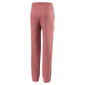 Thumbnail 2 of Fleece Kids' Sweatpants, Marsala, medium