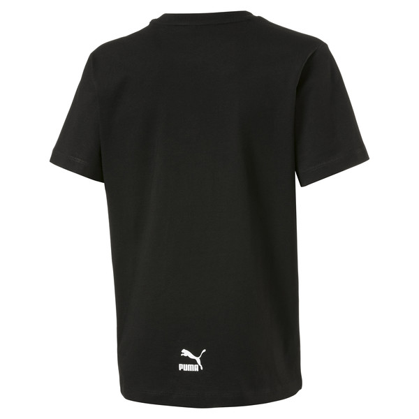 Graphic Kids' Tee, Puma Black, large