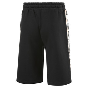 Thumbnail 2 of Fleece Kids' Sweat Shorts, Puma Black, medium
