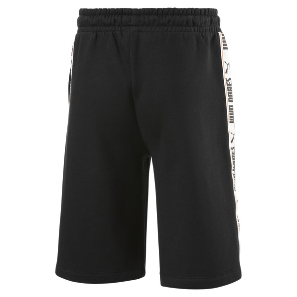 Fleece Kids' Sweat Shorts, Puma Black, large