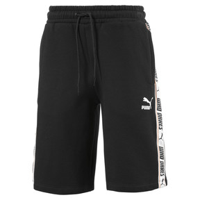 Thumbnail 1 of Fleece Kids' Sweat Shorts, Puma Black, medium