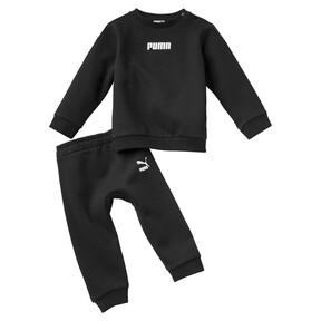 Imagen en miniatura 1 de Conjunto de pantalones deportivos de bebé, Puma Black, mediana