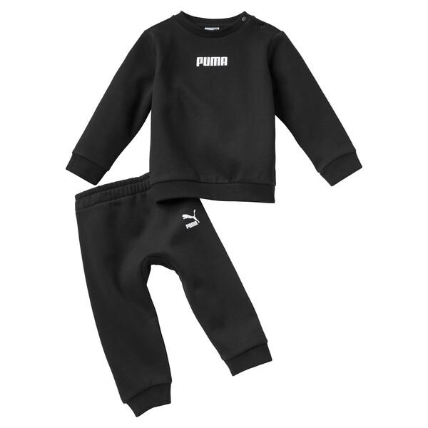 Joggingset voor baby's, Puma Black, large