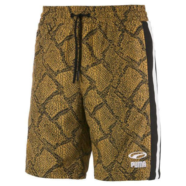 Geweven Snake Pack luXTG short voor mannen, Sunflower-AOP, large